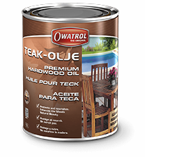 Owatrol Teak Olje Premium Hardwood Oil